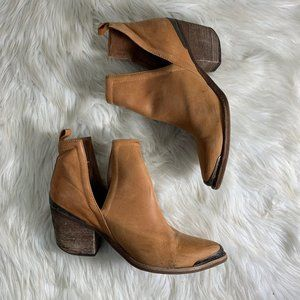 Jeffrey Campbell Western Ankle Bootie Size 8.5